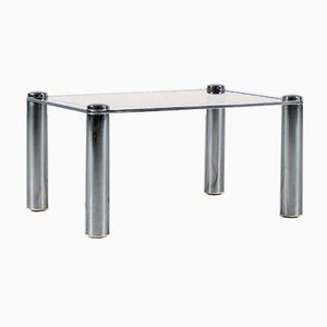 Chrome-Plated Side Table, 1970s