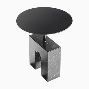 Triumph Marquina Marble Side Table by Joseph Vila Capdevila
