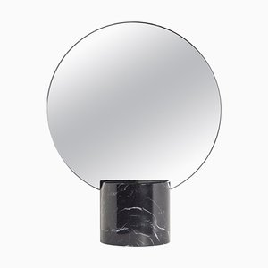 Miroir Sun Marquina en Marbre par Joseph Vila Capdevila