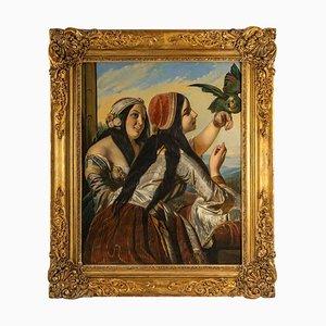 Pintura del siglo XIX de G. Ralier