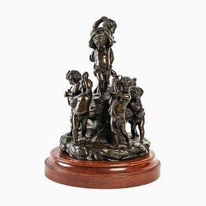 Escultura de bronce de Clodion