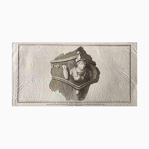 Diverse Alte Meister, Antike Römische Büste, Radierung, Ende 18. Jh