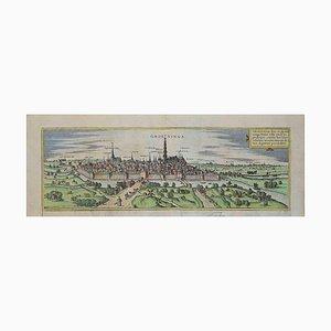 Unbekannt, Groeninga, Radierung, spätes 16. Jahrhundert