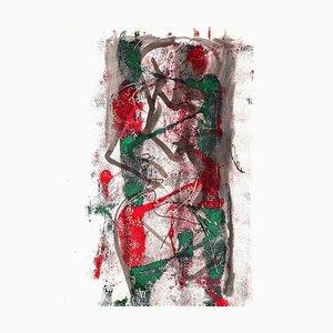 Desconocido, Composición abstracta, Litografía, años 70