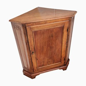 20th Century French Directoire Carved Corner Cabinet