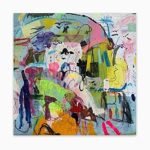 Untitled 21A, Pittura astratta, 2021