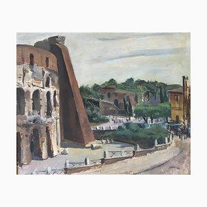 Luigi Surdi, Il Colosseo e la Domus Aurea, Rom, 1942