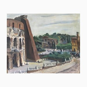 Luigi Surdi, Il Colosseo e la Domus Aurea, Rome, 1942