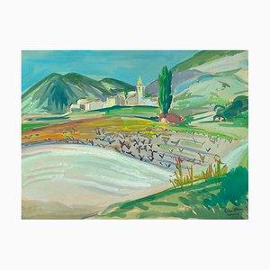 Drôme Landscape in Novezan Venturol von Roger Worms