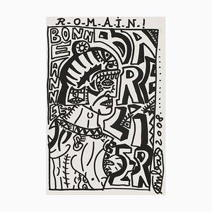Voeux Romain Barelier by Robert Combas