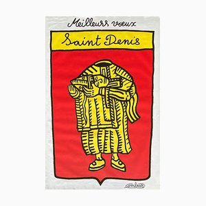 Meilleurs Voeux - Saint Denis de Robert Combas