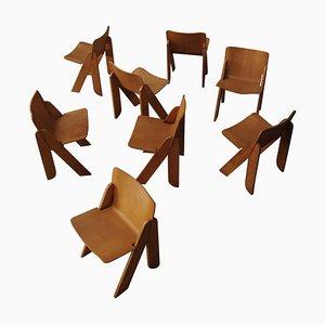 Peota Stühle von Gigi Sabadin für Stilwood, 1970, 8er Set