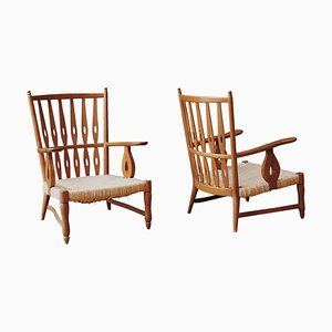 Low Armchairs by Paolo Buffa, 1948, Set of 2