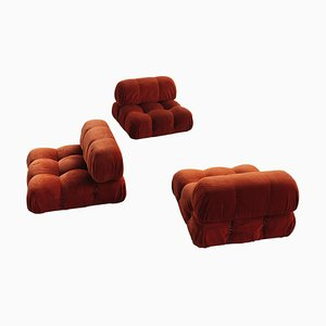 Camaleonda Modular Sofa by Mario Bellini for B&B Italia, 1971, Set of 3