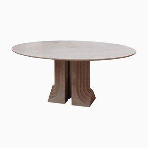 Samo Oval Table by Carlo Scarpa for Simon Gavina in Granite, 1971