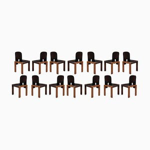 121 Dining Chairs by Afra & Tobia Scarpa for Cassina, 1968, Set of 14
