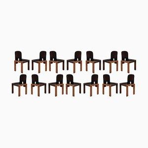121 Esszimmerstühle von Afra & Tobia Scarpa für Cassina, 1968, 14er Set