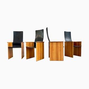 Torcello Esszimmerstühle von Afra & Tobia Scarpa für Stildomus, 1964, 4er Set