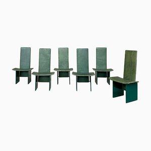 Kazuki Chairs by Kazuhide Takahama for Simon Gavina, 1968, Set of 6