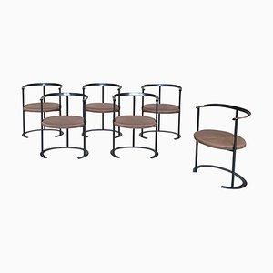 Catilina Stühle von Luigi Caccia Dominioni für Azucena, 1958, 6er Set