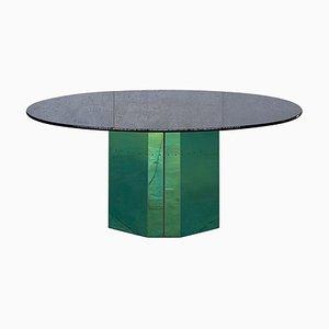 Table Ovale Polygone par Afra & Tobia Scarpa pour B&B Italia, 1980