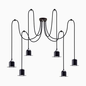 Multiple 6 Hat Lamp by Büro Famos for Emko