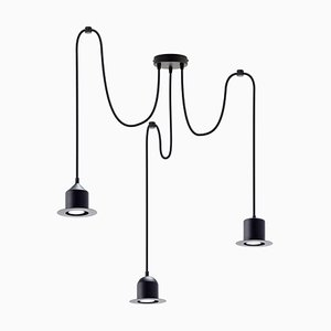 Multiple 3 Hat Lamp by Büro Famos for Emko