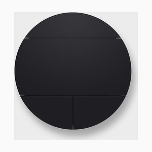 Black Multifunctional Pill Extra Cabinets by Dalius Razauskas for Emko