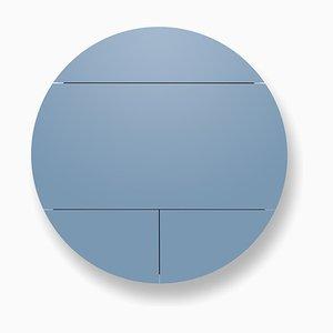 Mueble Pill extra en negro y azul de Dalius Razauskas para Emko