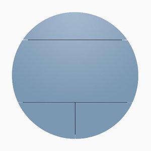 Multifunktionale Pill Extra Schränke in Weiß & Blau von Dalius Razauskas für Emko