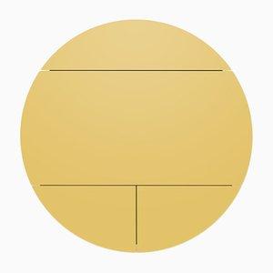 Mobiletto Pill bianco e giallo di Dalius Razauskas per Emko
