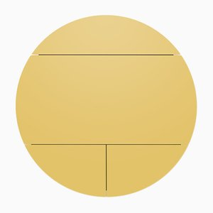 White & Yellow Multifunctional Pill Extra Cabinets by Dalius Razauskas for Emko
