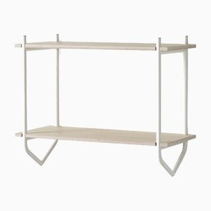 Dessus Shelf with White Frame by Pierre Foulonneau for Emko