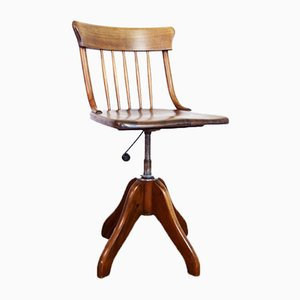 Vintage Swiss Office Chair from Horgen Glarus