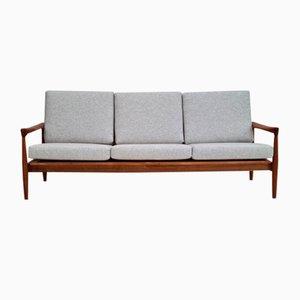 Dänisches 3-Sitzer Sofa aus Eiche, 1960er