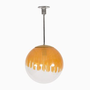 Anemone Pendant Lamp by Ludovico Diaz De Santillana for Venini, 1960s