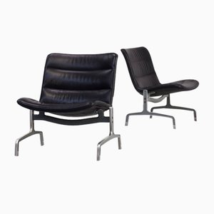 Series 8000 Lounge Chairs by Jørgen Kastholm for Kusch+Co, 1970s, Set of 2