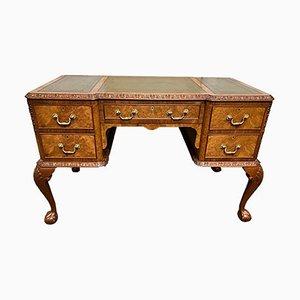 Burr Walnut Writing Desk from Maples