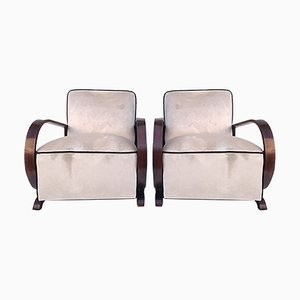 Art Deco Armchairs, 1930s, Set of 2