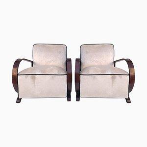Art Deco Sessel, 1930er, 2er Set