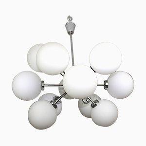 Sputnik Kronleuchter mit 12 Leuchten von Orion, 1960er