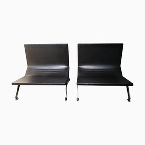 Lounge Chairs by Gianni Moscatelli for Formanova, Set of 2