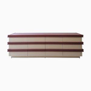 Amerikanisches Vintage Sideboard mit 12 Schubladen im Stil von Jay Specter, 1980er