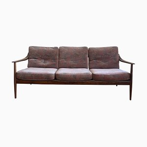 Antimott Modell 550 Sofa und Sessel aus Palisander von Walter Knoll für Walter Knoll / Wilhelm Knoll, 3er Set