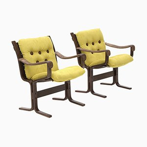 Armchairs by Ingmar Relling for Westnofa, 1970s, Set of 2