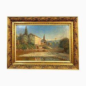 Peinture de Paysage, Ecole de Lyon, 1900s