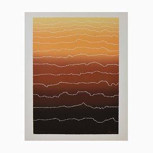 Arthur Secunda, Große Abstrakte, Hochhaus, 1980er