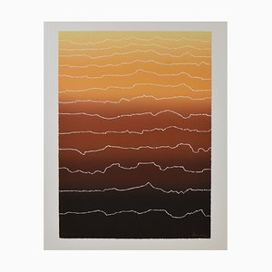 Arthur Secunda, Large Abstract, High Rise, 1980s