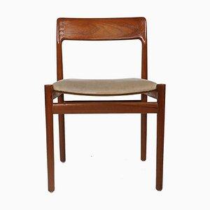 Chaises de Salle à Manger Mid-Century par Johannes Norgaard pour Norgaard Mobelfabrik, Set de 6