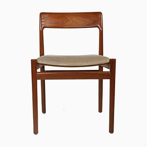 Mid-Century Dining Chairs by Johannes Norgaard for Norgaard Mobelfabrik, Set of 6